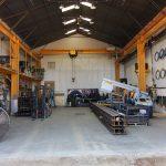 Building #4, cutting, welding & storage