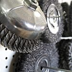 Wire Wheels, & Knotted Brushes for general purpose cleaning or finishing and polishing of metals